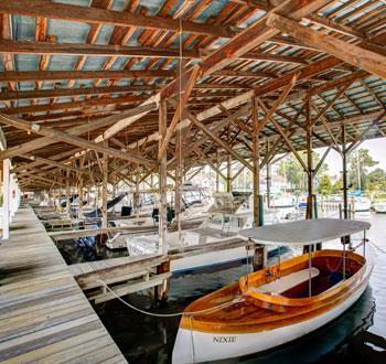 Covered Boat Slips Deltaville