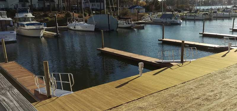 new floating docks