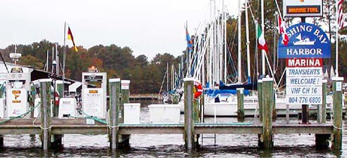 Fuel Dock Deltaville